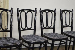 Set Of 4 Thonet Bentwood Chairs