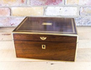 Rosewood Table Box C.1850