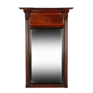 George Iv Mahogany Pier Glass