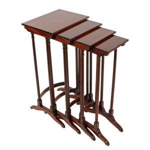 Nest Of Four Georgian Style Tables