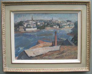 Modern British: Frank Barrington Craig (1902-1951) Large Oil C1946