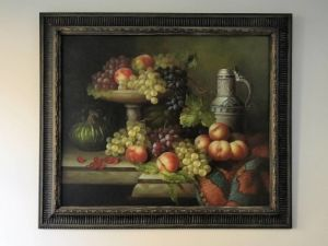 Highly Decorative Pair Of Still Life's