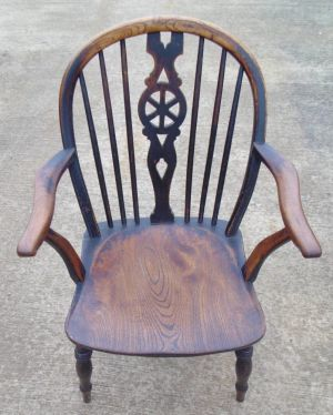 Wheelback Windsor Armchair