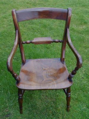 Windsor Armchair, Stephen Hazel, Oxford.