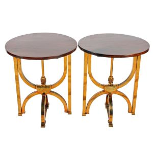 Unusual Victorian End Tables