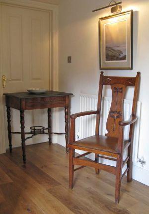 Antique Oak Carver Chair