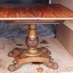 Early Mahogany Tea Table