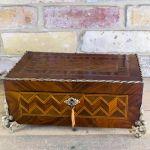 Decorative Kingwood French Table Box C.1860
