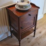 Antique Nightstand With Pot Cupboard