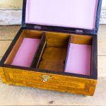 Burr Yew Georgian Table Box C.1790
