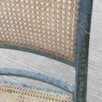 Regency Painted Caned Armchair