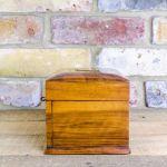 Figured Walnut Jewellery Box C.1890