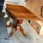 Basket Base Rosewood Sofa Table