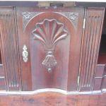 Georgain Mahogany Bureau