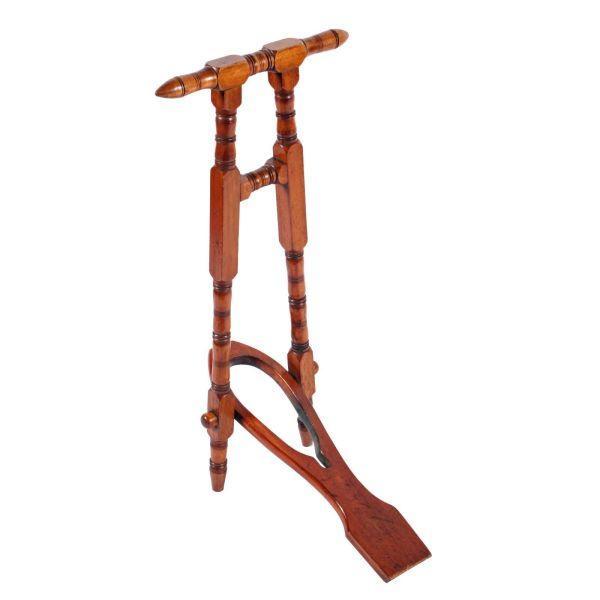 Victorian Mahogany Boot Jack