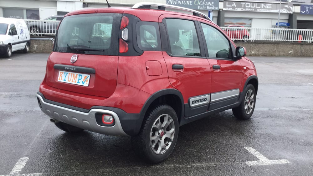Fiat Panda 1.3 Multijet 80 4×4 – Cross – 2015 – 26 021 km ...