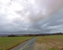 Boucle à travers champs entre Chantilly et l'Est du Vexin   2