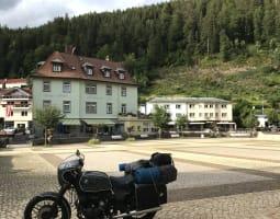La Forêt Noire à moto - Crédit : A. Millès/Michelin