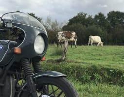 Le pays de Caux à moto - Crédit : A. Millès/Michelin
