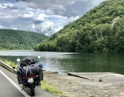 Ardennes à moto - Crédit : A. Millès/Michelin