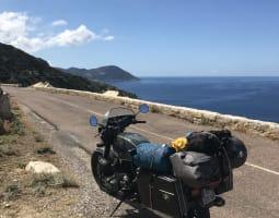 La Balagne à moto - Crédit : A. Millès/Michelin