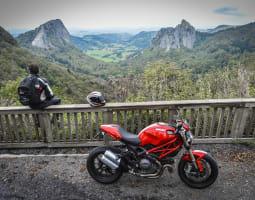 3 - Auvergne Roadbook Dafy Trip 1