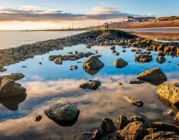Havre-Touquet le long du littoral 0