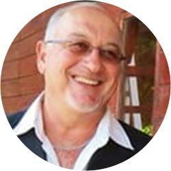 A portrait photo of Mike Eltringham