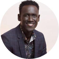 A portrait photo of Kobby Poku