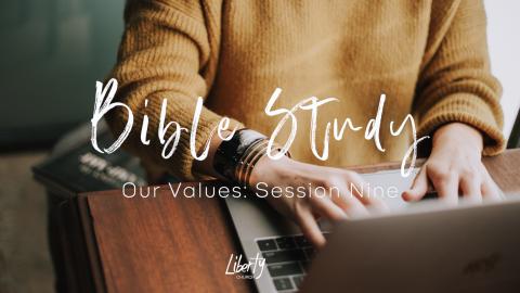 Bible Study Session 9: A culture of honour, affirms