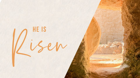 Easter Sunday: His Story, Our Story