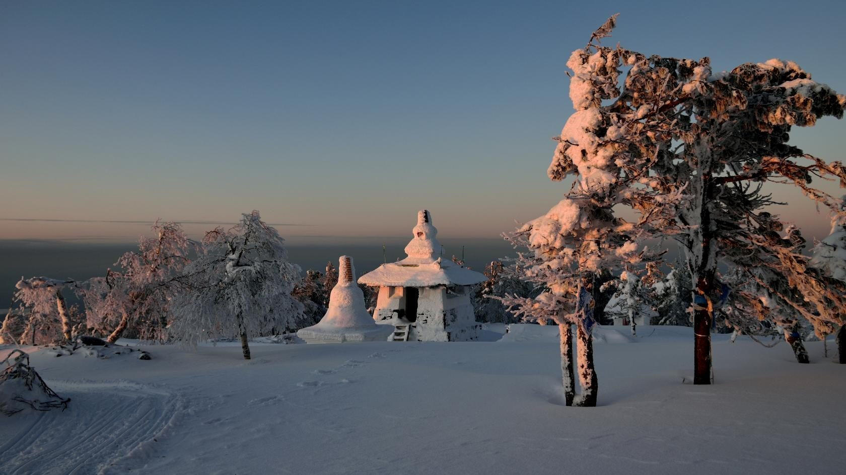 Буддийский монастырь Шад-Тчуп-Линг в Качканаре. Фото Вадима Баталова