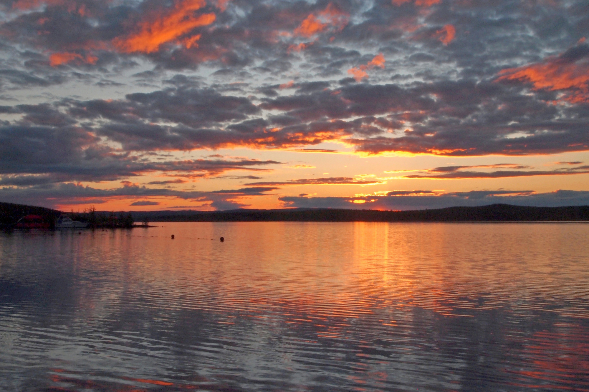 Качканарское «море» в Качканаре. Фото: Удинцева Т.А.