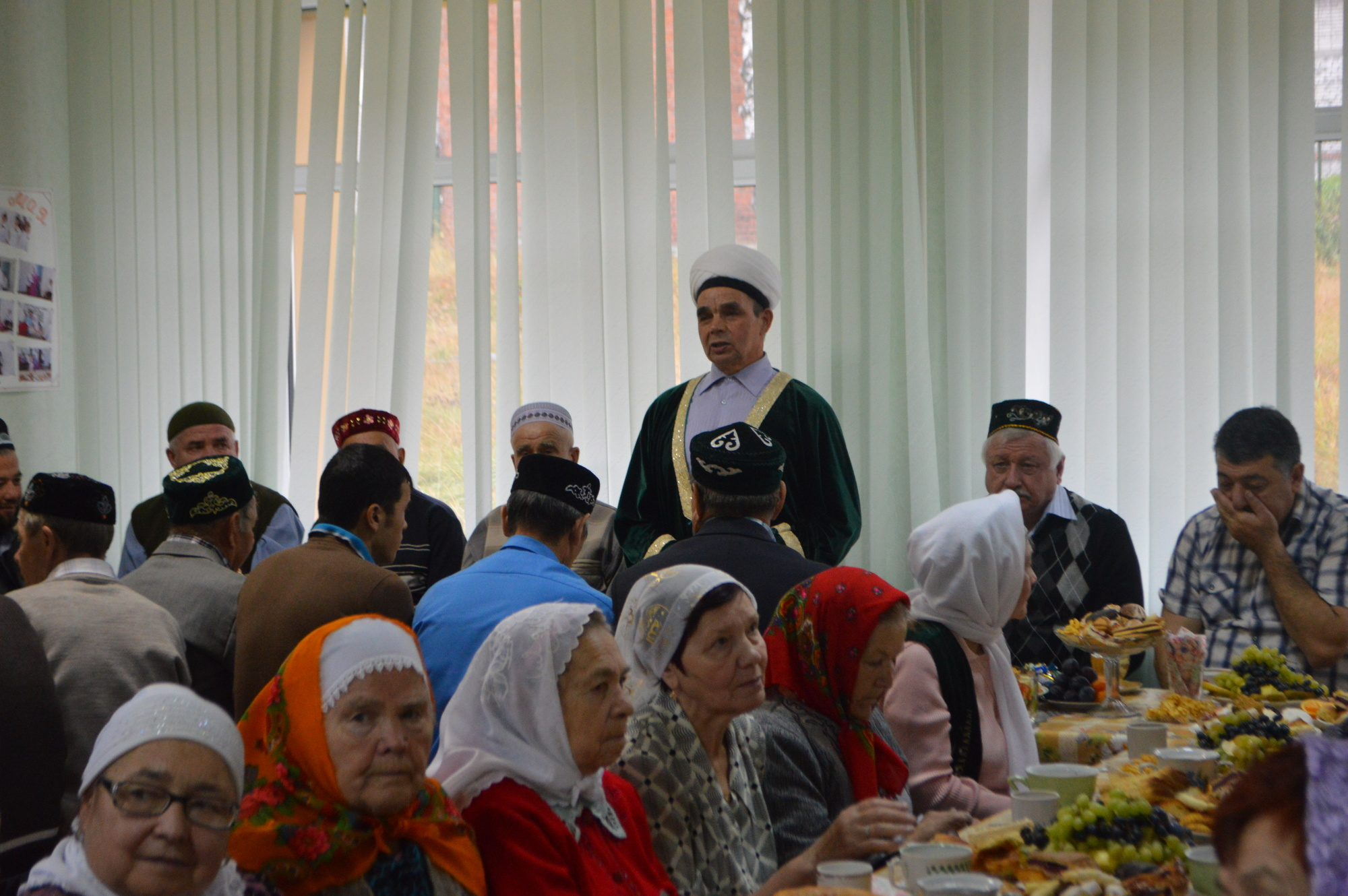 Мечеть в Качканаре. Празднование сабантуя в одном из помещений мечети Фото: Пушкарева Е.М.