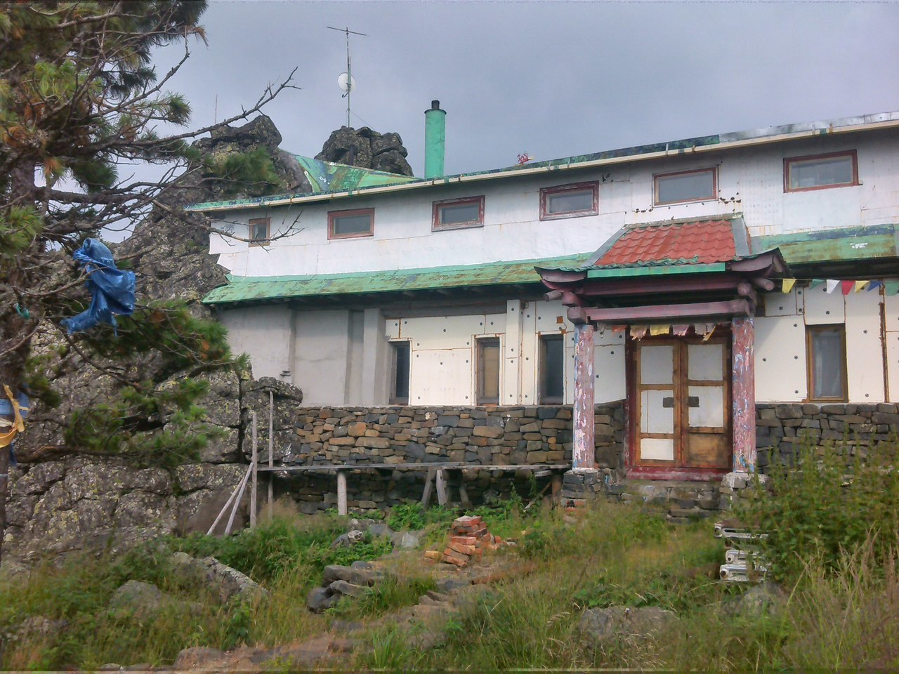 Буддийский монастырь Шад-Тчуп-Линг в Качканаре.