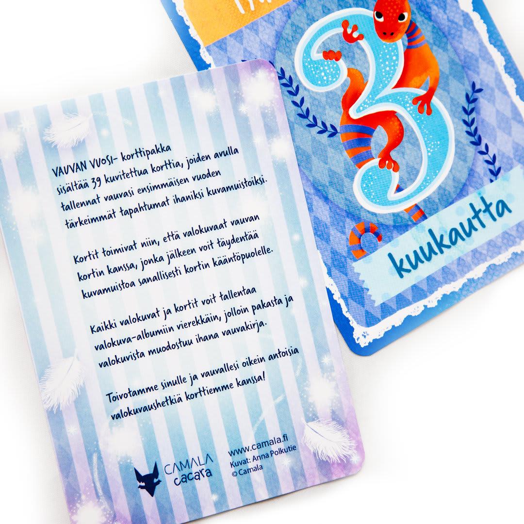Vauvan vuosi korttipakka