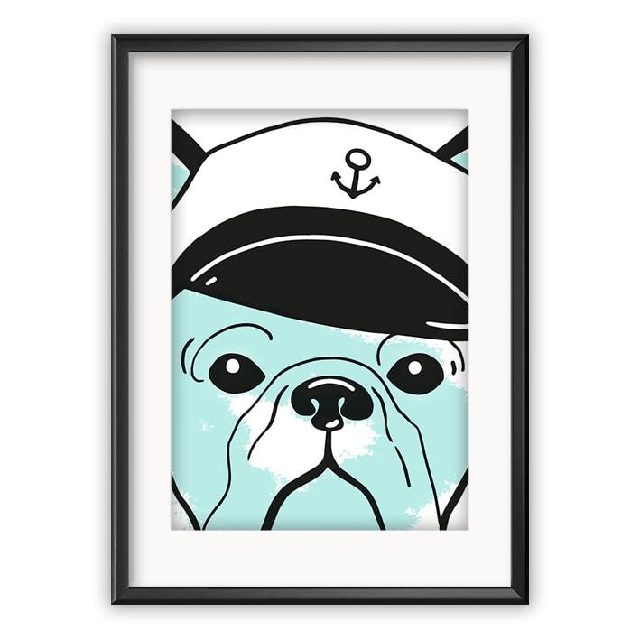 Koira ja kapteenin lakki