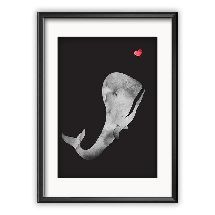 valas ja sydän juliste taulu