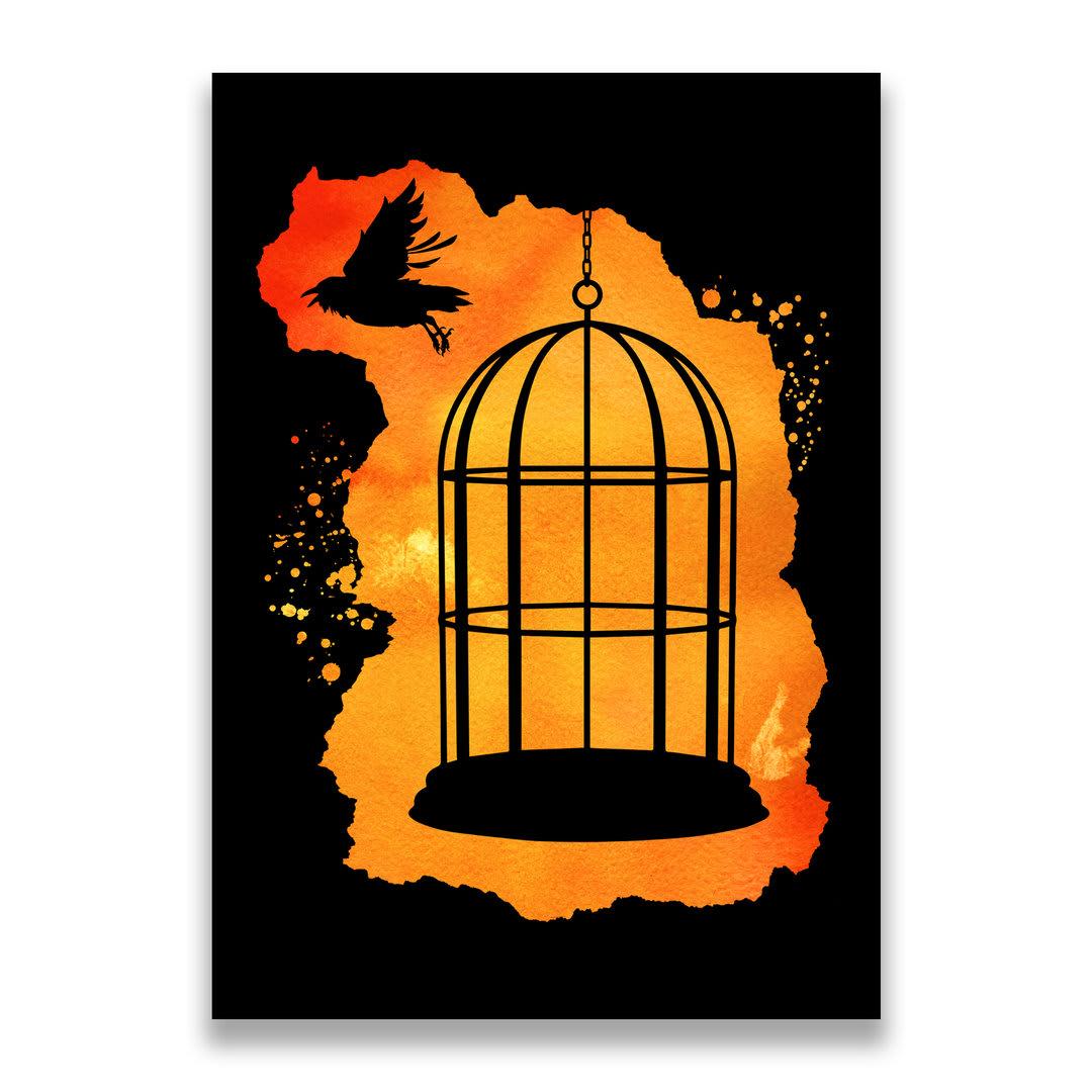 Linnunhäkki juliste taulu