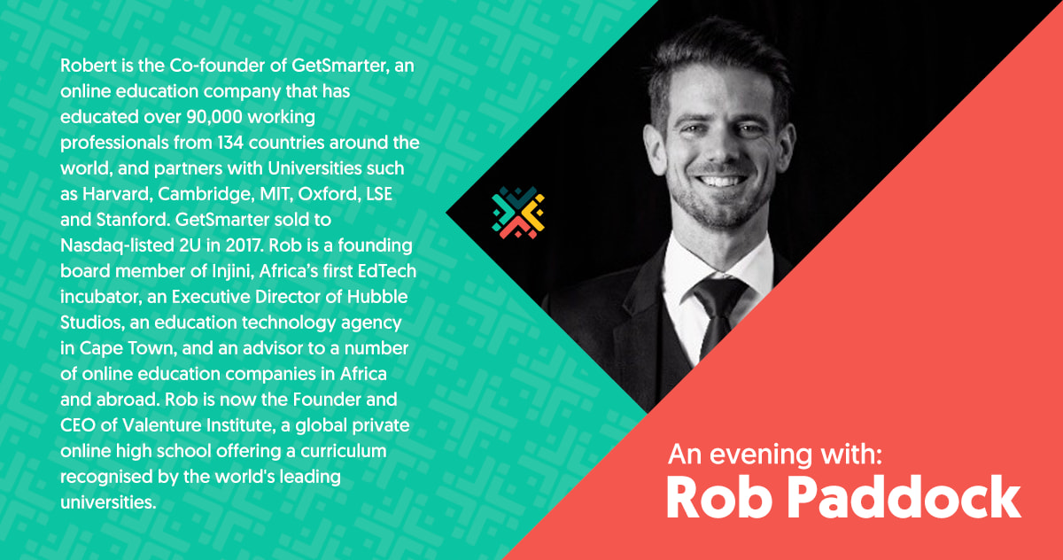 Live stream: An Evening with Rob Paddock