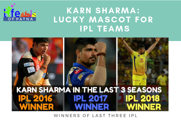Karn Sharma_ Lucky Mascot For IPL Teams