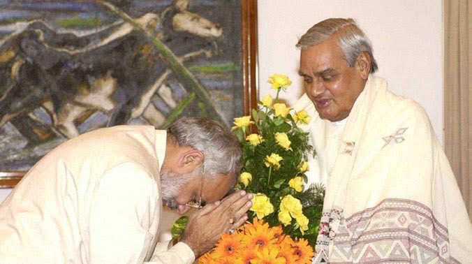 PM with Atal Ji