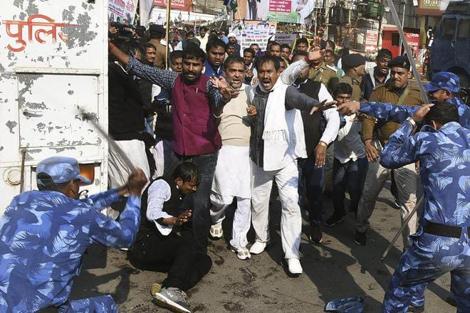 police_action_against_Upendra_Kushwaha 660x440, 80.9 KB JPG