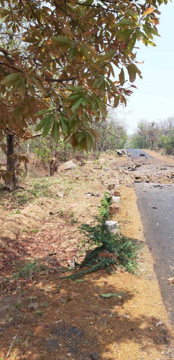 महाराष्ट्र के गढ़चिरौली में पुलवामा जैसा हमला अब तक 15 जवान शहीद