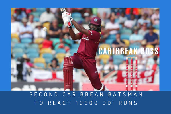 SECOND-CARIBBEAN-BATSMAN-TO-REACH-10000-ODI-RUNS