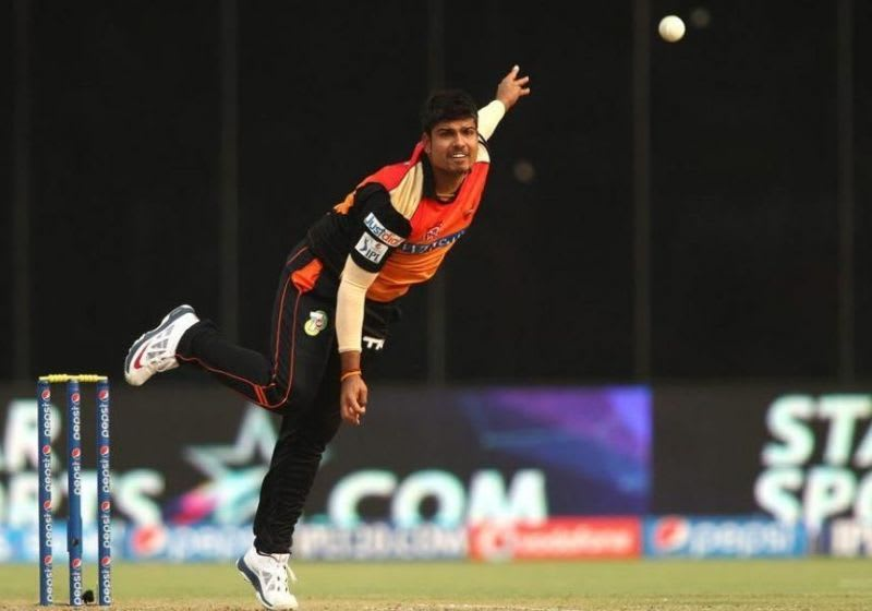 Karn Sharma made his IPL debut for Sunrisers Hyderabad in IPL 2013