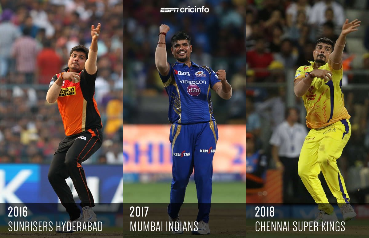 Karan Sharma in different IPL Teams
