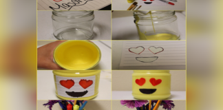 a complete guide to make an emoji jar