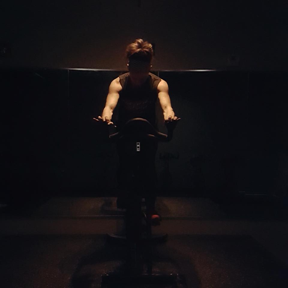 Spin class to lose fat