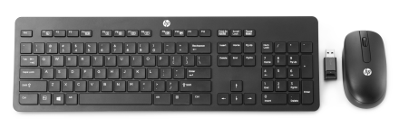 HP Wireless Slim Business Keyboard & Mouse